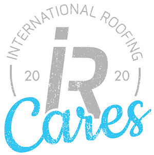 international roofing 2020 cares logo